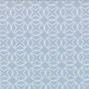 Moda Sphere by Zen Chic - 3174 - Off-White Noughts and Crosses on Grey 1544 19 - Cotton Fabric